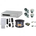 Комплект FULL HD на 2 внутренних и 2 уличных камеры