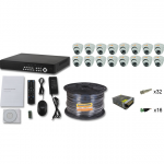 Комплект FULL HD на 16 внутренних  камер