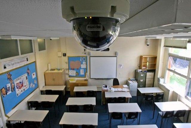Видеонаблюдение в школе